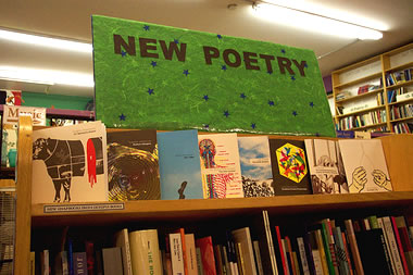 New Poetry section at Pegasus